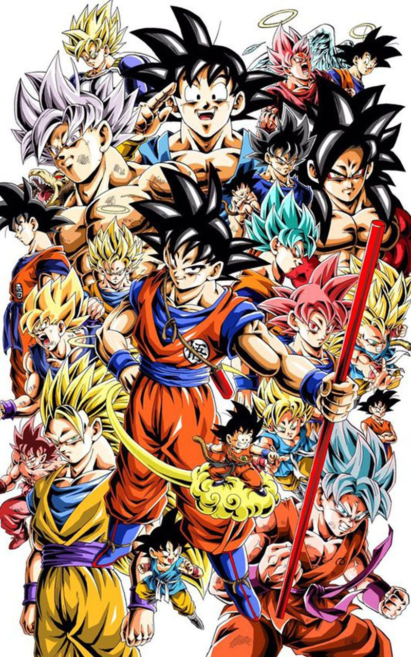 Dragon Ball all seasons